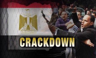 Egypt crackdown show graphic