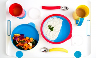Sometimes even the simplest household items, like dinnerware, are hard to navigate for individuals suffering from dementia. So a student designed this set with anti-slip bowls and curved spoons.