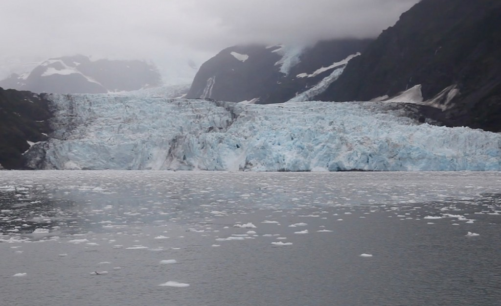 A glacier in Prince William Sound, Alaska