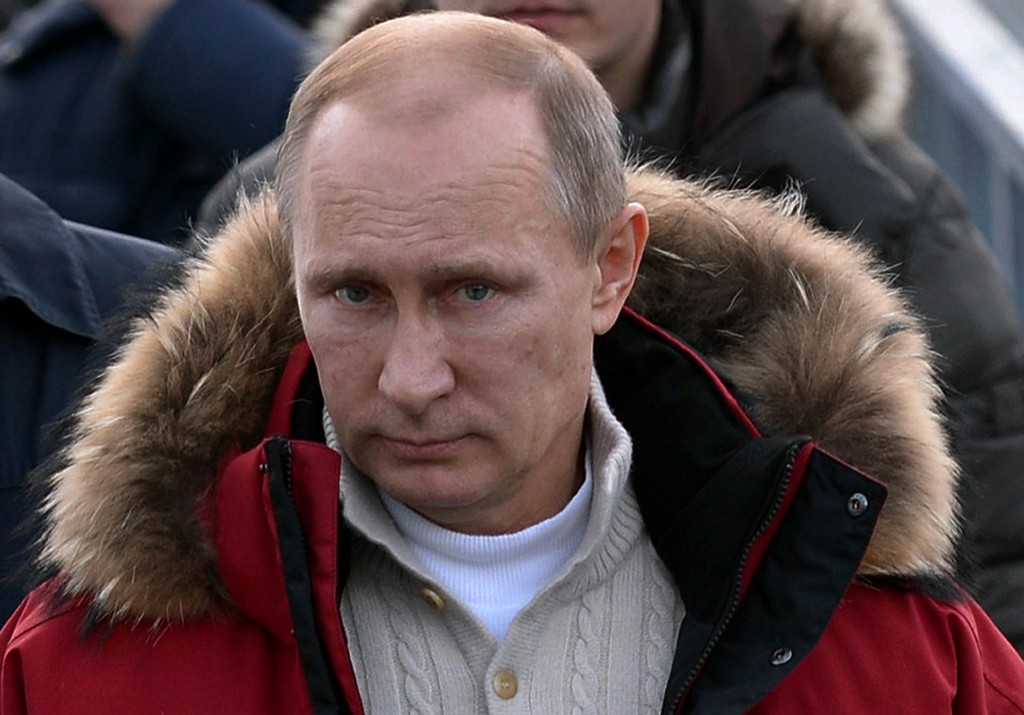 New sanctions on Russia are targeting some of Putin's closest allies. Photo by Alexi Nikolsky/AFP/Getty Images