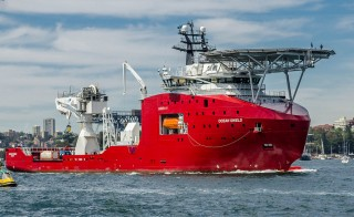 "Australian Defense Vessel Ocean Shield has found what may be new evidence pointing to the location of the Malaysia Airlines Flight 370's black box. But it could take a few days for officials to confirm whether this ""promising lead"" is linked to the missing aircraft. Photo by Wikimedia Commons user Hpeterswald"