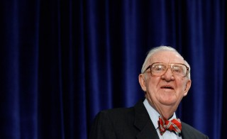 Former Supreme Court Justice John Paul Stevens  Speaks At The American Law Institute Annual Meeting