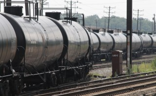 Freight railroads have threatened to halt shipment of toxic chemicals if Congress does not extend a deadline to start using enhanced rail safety technology, the Associated Press reported Thursday. Photo by Curtis Tate/MCT via Getty Images