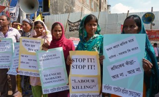 BANGLADESH-DISASTER-TEXTILE-COMPENSATION