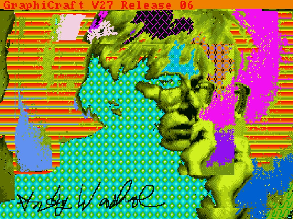 Andy Warhol, Andy2, 1985, ©The Andy Warhol Foundation for the Visuals Arts, Inc. Image courtesy of The Andy Warhol Museum