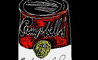Andy Warhol, Campbell's, 1985, ©The Andy Warhol Foundation for the Visuals Arts, Inc. Image courtesy of The Andy Warhol Museum