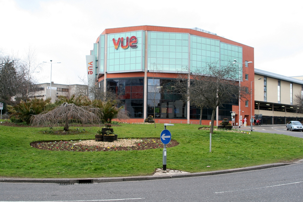 "The Vue Cinema in Exeter, England got a taste of the movie ""Noah"" thanks to a faulty ice machine. Photo by Flickr user AroundExeter.co.uk"