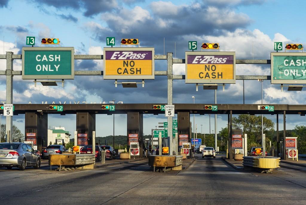 E-Z Pass toll booth in Philadelphia. Photo by John Greim/LightRocket via Getty Images