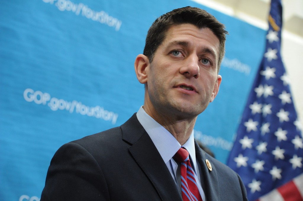 Chairman of the House Budget Committee Rep. Paul Ryan. Photo by Rod Lamkey/Getty Images