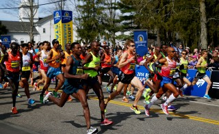 2014 B.A.A. Boston Marathon
