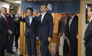 JAPAN-US-DIPLOMACY-OBAMA-ABE