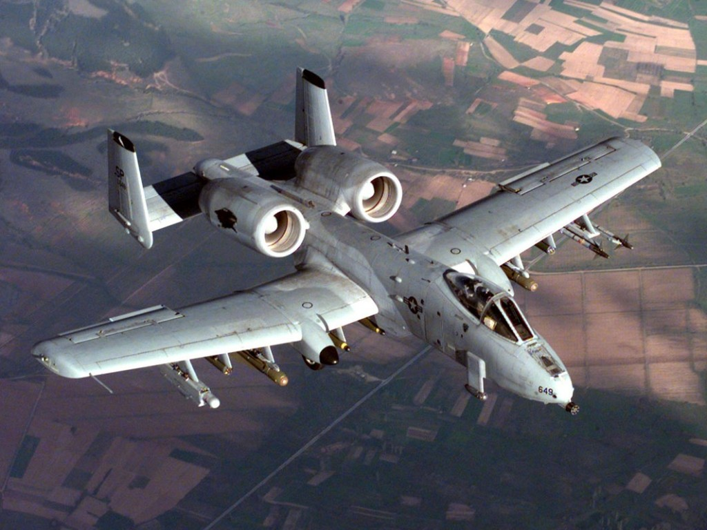 Is the A-10 Warthog a Cold War relic, or a battlefield workhorse? U.S. Air Force photo by Senior Airman Greg L. Davis