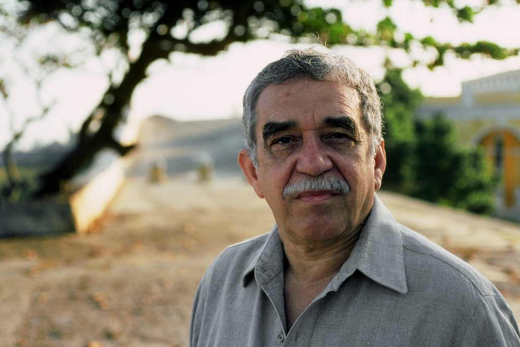 "Colombian author Gabriel Garcia Marquez was known for his ""magical realism"" style of storytelling. He died Thursday in Mexico City at the age of 87. Photo by Ulf Andersen/Getty Images"