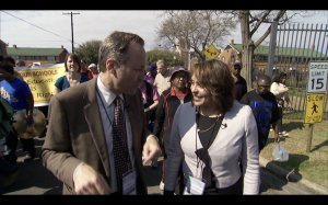 U.S. Poet Laureate Natasha Trethewey and the NewsHour's Jeffrey Brown retrace moments from the Civil Rights area, including the march from Selma to Montgomery.