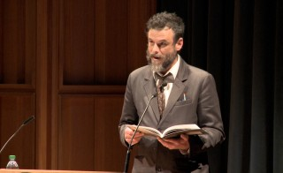 Steve Scafidi Jr.  reads 'Portraits of Abraham Lincoln with Clouds for a Ceiling'