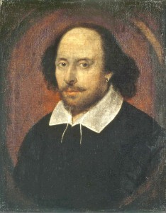 "The ""Chandos"" portrait of William Shakespeare."