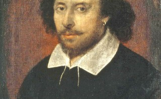 "The ""Chandos"" portrait of William Shakespeare. Image courtesy of the National Portrait Gallery"