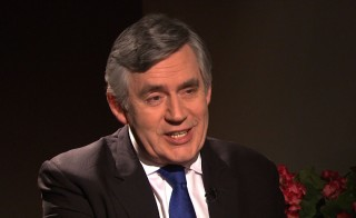 Former U.K. Prime Minister Gordon Brown Discusses educating Syrian refugees living in Lebanon.
