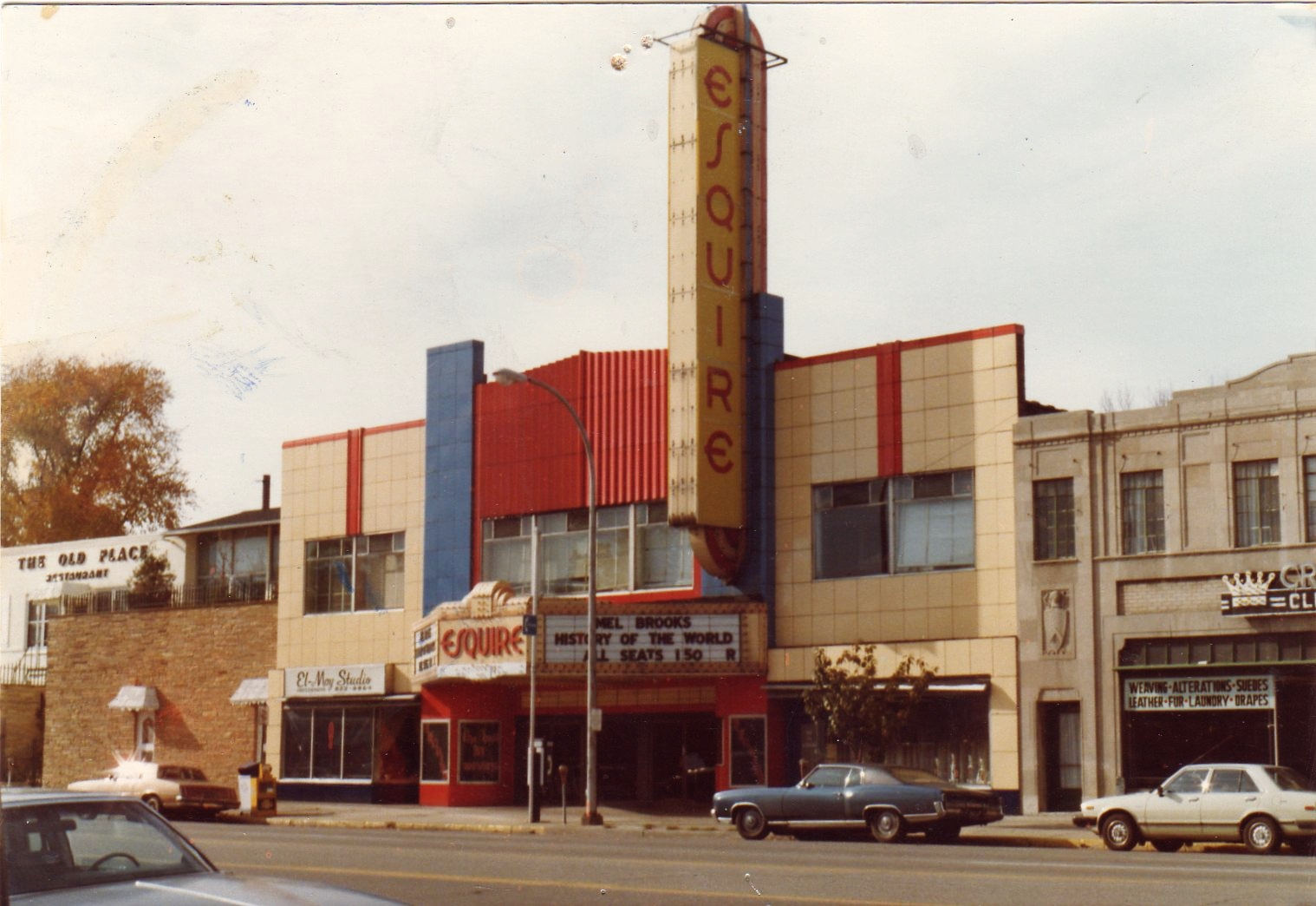 Photo of Esquire Theater in Grosse Pointe Park, Michigan, courtesy of Kate Ford.