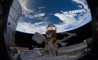 Cooperation remains critical to astronauts' efforts on the International Space Station. But down on Earth, NASA announced Wednesday they will halt most of their engagements with Russia, because of worldly disputes over Ukrainian soil and sovereignty. Photo by NASA