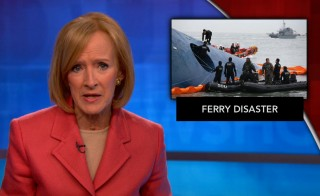 South Korean ferry. Judy Woodruff