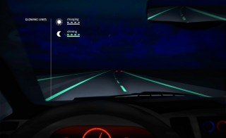 Smart Highway -- Glowing Lines (courtesy of Flickr user Studio Roosegaarde)