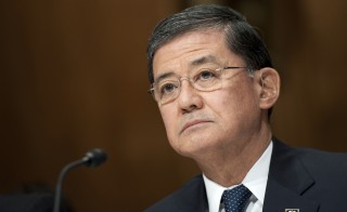 President Barack Obama summoned VA Secretary Eric Shinseki for a meeting in the Oval Office on Wednesday, hours before the House votes on a bill that would give Shinseki more power to fire top VA executives. Photo By Chris Maddaloni/CQ Roll Call