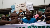 Nigerians rally for missing schoolgirls