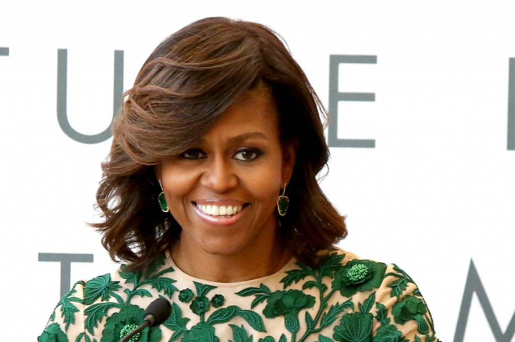 First Lady Michelle Obama speaks at the  Metropolitan Museum of Art on May 5, 2014 in New York City. Photo by Paul Zimmerman/WireImage