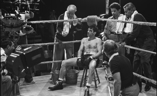 "A production photo from ""Raging Bull,"" 1980"
