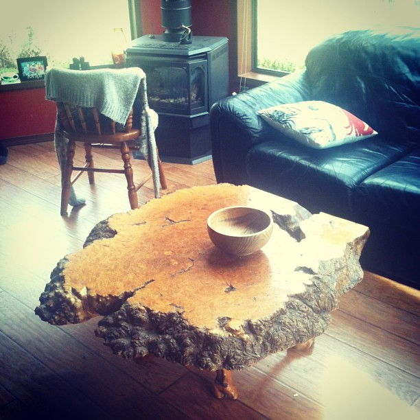 Burls can be turned into furniture. Photo by Flickr user Jordan Oram.