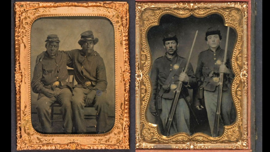 Civil War era tintypes