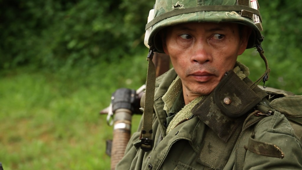 Vinh Nguyen is a reenactor and a former member of the Army of the Republic of Vietnam. Courtesy Mike Attie and Meghan O'Hara
