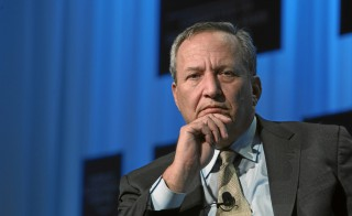 Former Harvard president and Clinton and Obama administration official Larry Summers admires Piketty's research but has been a critic of his theory of capitalism. Flickr user World Economic Forum.