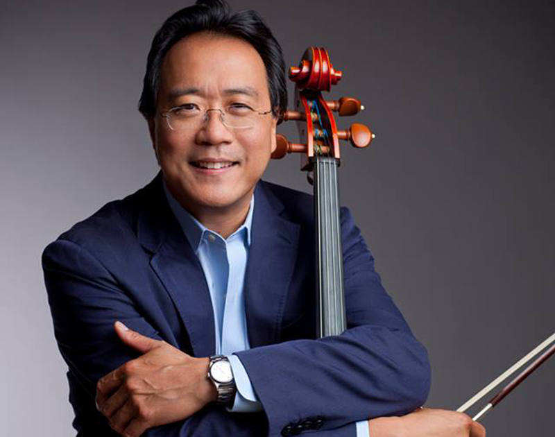 Yo-Yo Ma plays to near capacity at Supreme Court