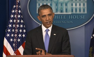 President Obama has promised a 'culture of accountability' . Video still by PBS NewsHour