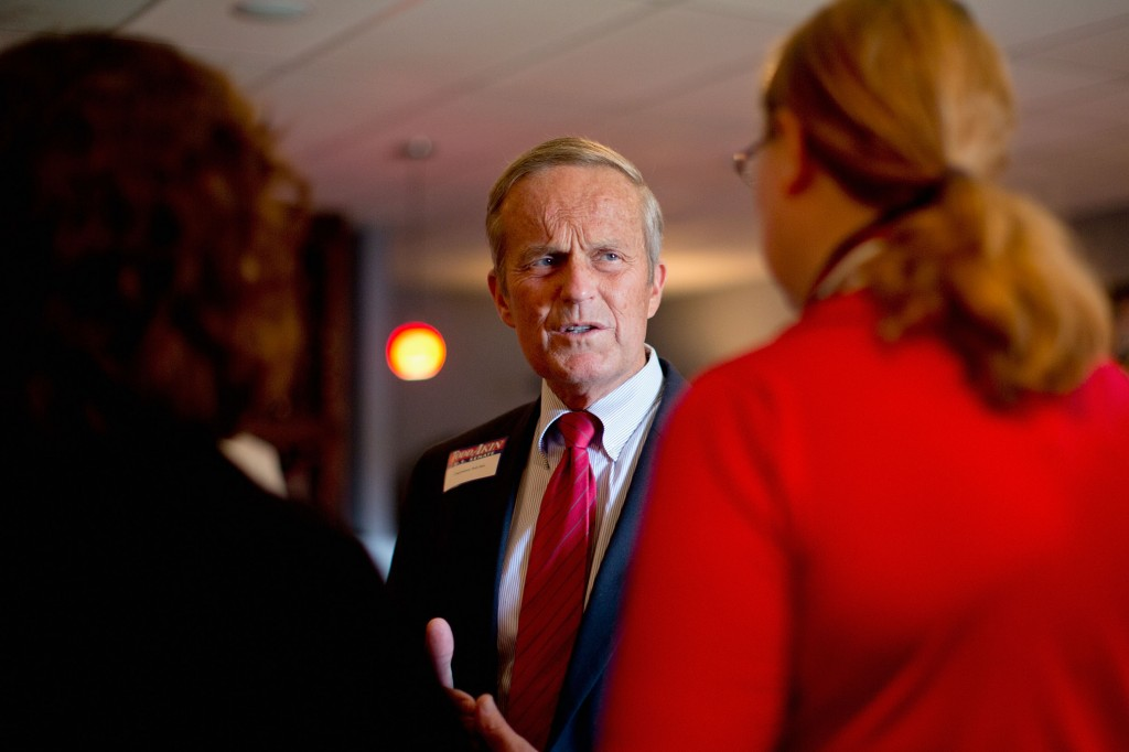 Republican party officials hope to push fringe tea party candidates out of races in the primaries, so they don't weaken the party's chances in key races. Todd Akin, a tea party favorite, lost to Democrat Claire McCaskill in the 2012 race for Senate in Missouri.