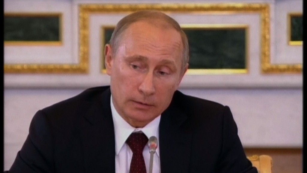 Russian President Vladimir Putin was urged by President Obama over the telephone today to stop supporting separatist uprisings in eastern Ukraine.