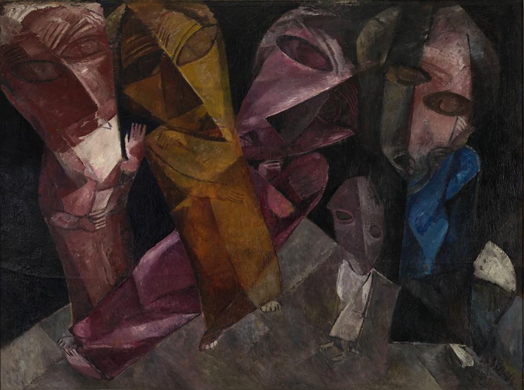 2. Lasar Segall, Eternal Wanderers, 1919