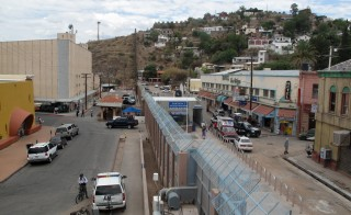 The U.S.-Mexico border fence in Nogales, Ariz. on June 27, 2009. Photo by Flickr user Ryan Bavetta
