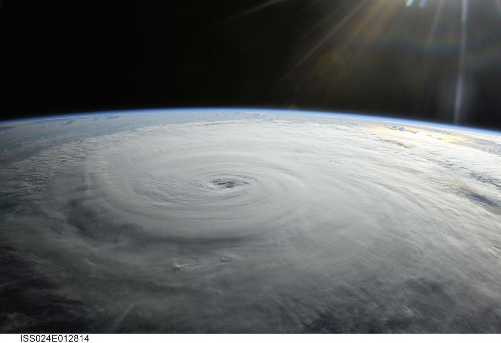 Hurricane Danielle photographed by an Expedition 24 crew member on the International Space Station. Photo by NASA