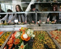 Thousands of Sodexo college cafeteria workers will regain their health benefits. Archive photo by Justin Sullivan/Getty Images
