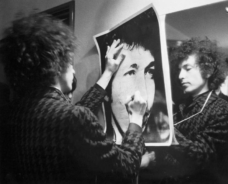 Bob Dylan, Paris, France 1966. Photo from the Barry Feinstein Collection