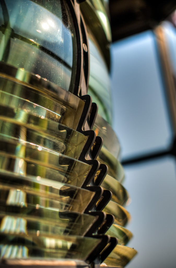 The original Fresnel lens, made in Paris. Photo by Flickr user Bee Collins.
