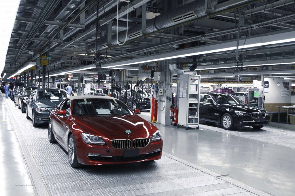 U.S. workers tend to be overly interested in design and do not value production as much as their counterparts in Germany, says a BMW engineer based in America. Above, a BMW plant in Germany. Photo by Flickr user Automotive Rhythms.