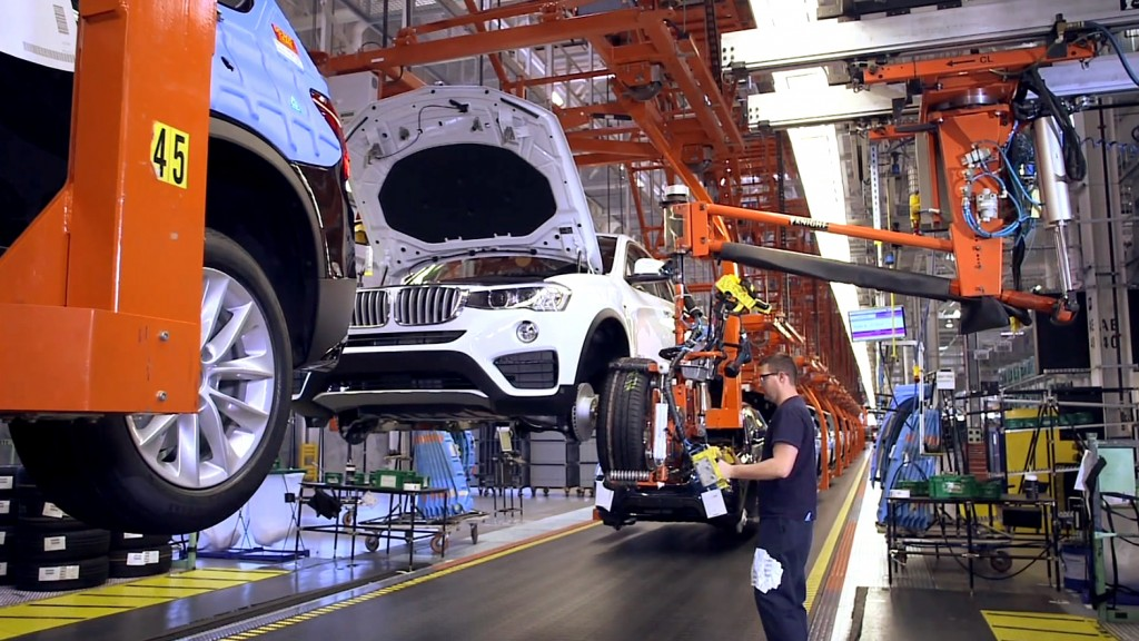 Workers at BMW's only U.S. manufacturing plant in Spartanburg, South Carolina, have the opportunity for on-the-job training through an apprenticeship program modeled after programs in Germany.