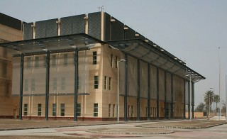The main building inside the U.S. embassy compound in Baghdad, Iraq. Photo by U.S. State Department