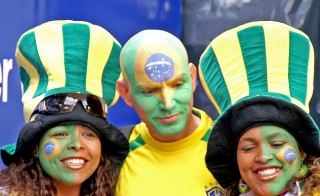 The World Cup is truly the world's event. Billions are expected to watch this year's competition in Brazil, where the host country's fans will settle for nothing less than a championship. Photo from Flickr user Peter Fuchs