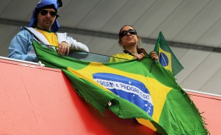 The host nation's fans expect nothing less than a World Cup championship. Photo by Flickr user Ronnie Macdonald