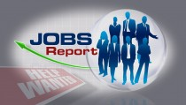 JOBS REPORT monitor